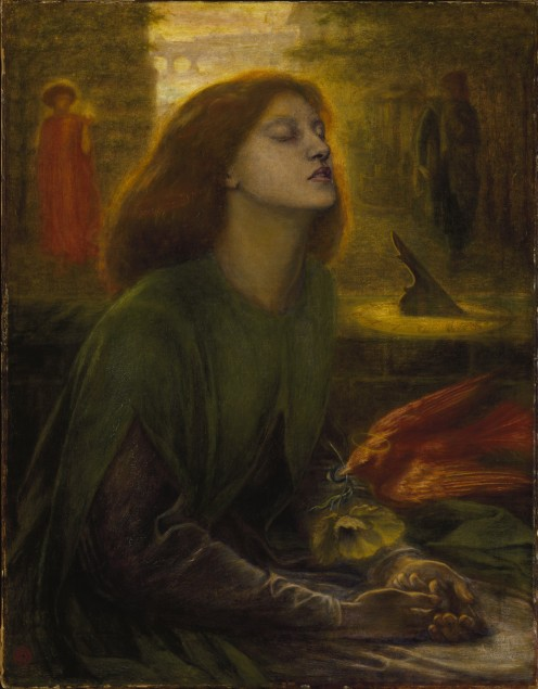 Beata Beatrix between 1864 and 1870 by Dante Gabriel Rossetti