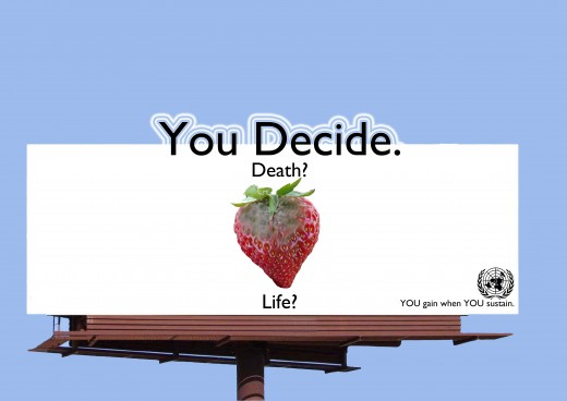 A clever billboard will get your attention.