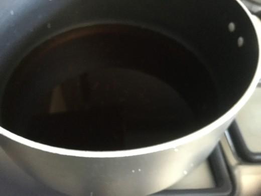 Medium boiling the liquid