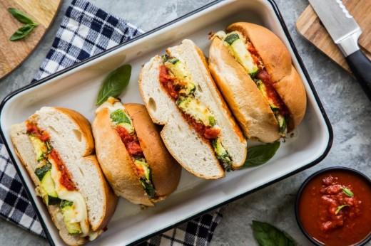 Delicious Zucchini Sub