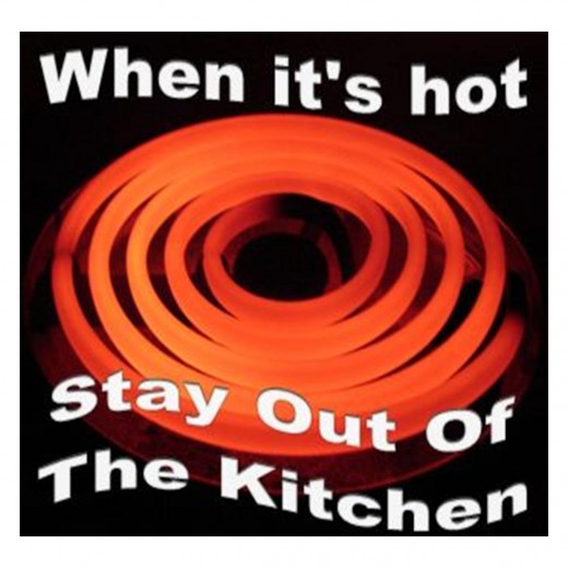 When it's hot...