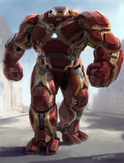 Iron Man Buster Armors