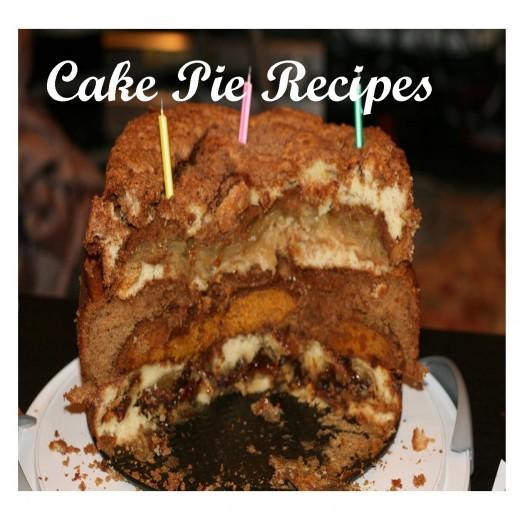 Cake Pie Recipes