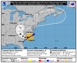 Florence: A Catastrophic Storm