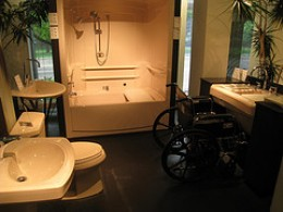 Accessible Bathroom Design  Accessible bathroom design Photo