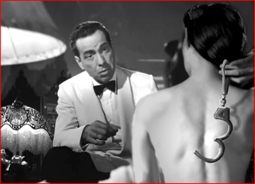 Humphrey Bogart and Ingrid Bergman had a most romantic and memorable Paris fling in Casablanca.  And during their careers they had torrid love affairs with some of Hollywood's biggest stars.