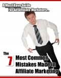 The Common Mistakes of Affiliate Marketers