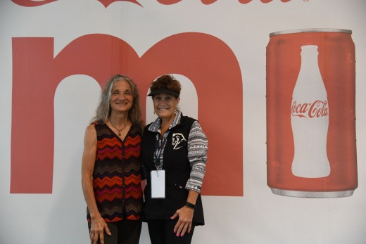(l-r) EQUUS Film Festival Co-Organizer Diana De Rosa and Founder Lisa Diersen.