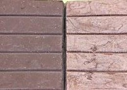"""Image: Courtesy ESRF.Eu Normal chocolate on the left, chocolate that was tempered incorrectly and experienced """"bloom"""" on the right."""