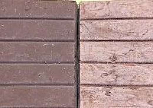 "Image: Courtesy ESRF.Eu Normal chocolate on the left, chocolate that was tempered incorrectly and experienced ""bloom"" on the right."