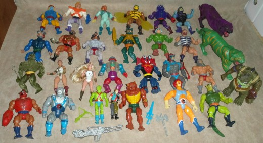 The market for vintage collectible action figures is a huge one and if you know how to work it a profitable one.