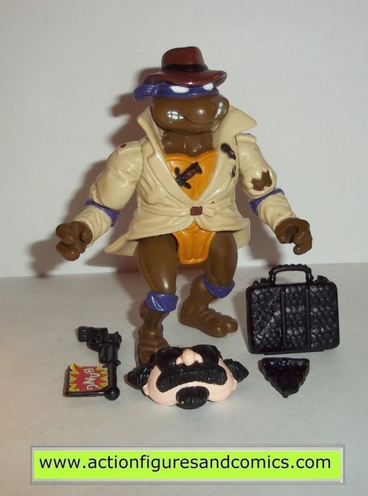 A mint loose figure will get you $10 but getting all the things that came with this is a nightmare!