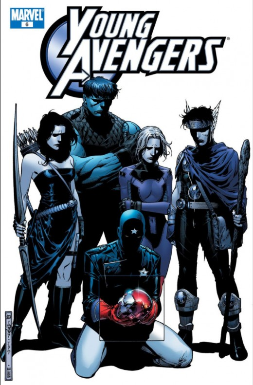 Young Avengers #6 - 1st appearance of Cassie Lang as Stature and Billy Kaplan as Wiccan.