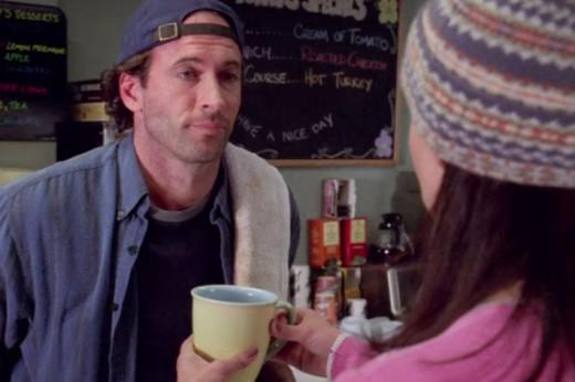 Scott Patterson as diner-owner Luke Danes.