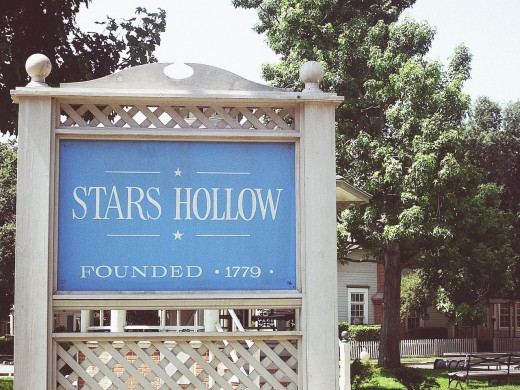 The famous Stars Hollow.