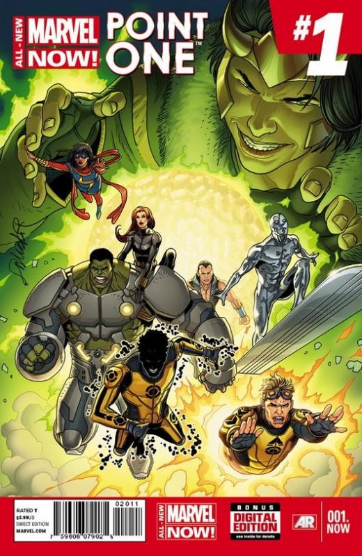 All-New Marvel Now Point One #1 - 1st Kamala Khan as Ms. Marvel.