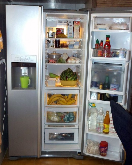 Clean the interior and coils of your refrigerator to keep your refrigerator running efficiently.