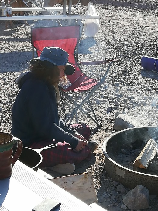Campfire Queen at Furnace Creek Campground