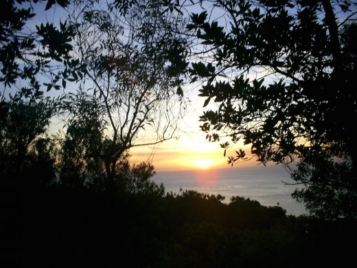Sunset view on top of Mt. Vulcan, Camiguin