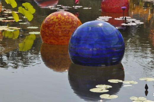 """Niijima Floats"" 2005 (Detail) Italian Garden."