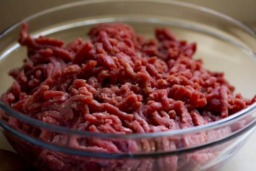Start with ground beef...