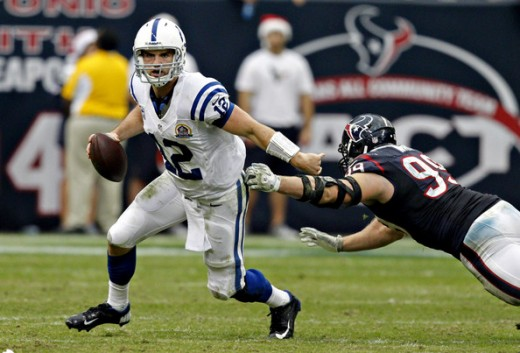 Andrew Luck QB- Indianapolis Colts