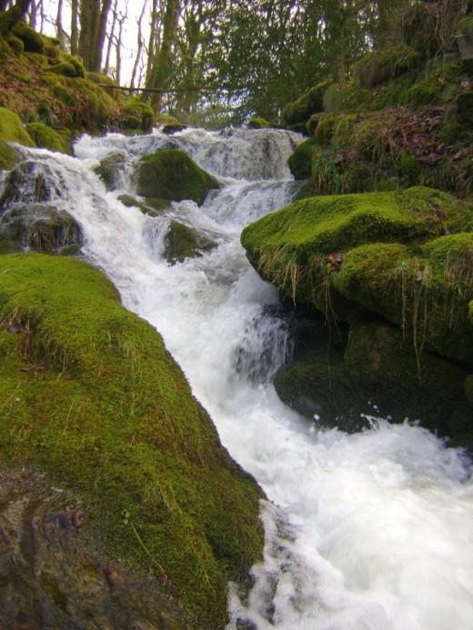 Waterfall on Dartmoor
