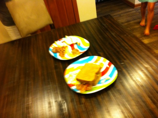 Sorry for the blurry picture. Trust me the dishes were actually good.