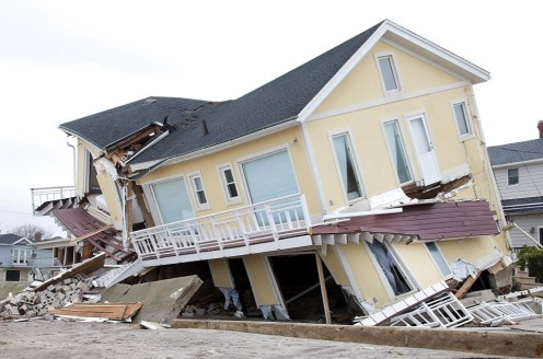"""...the rain descended, the floods came, and the winds blew and beat on that house, and it fell."""
