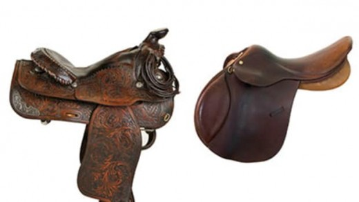 S is for saddles, we all love our saddles, whether they be English or western.