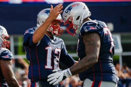 Tom Brady and the New England Patriots destroyed the Miami Dolphins Sunday, putting any doubts to rest who still runs the AFC East