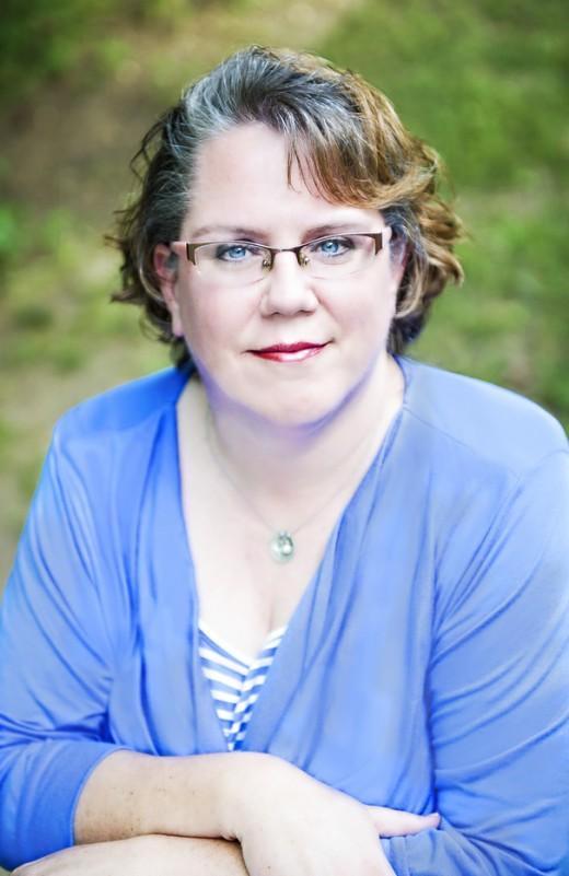 The author, Stephanie Ayers