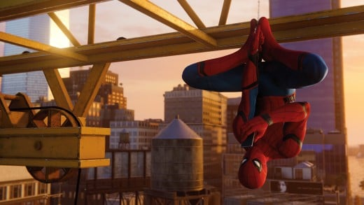 The Homecoming suit is one of many different suits players unlock as they play.