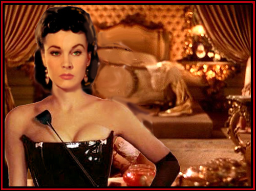 "Vivien Leigh won an Oscar playing Scarlett O'Hara.  Off camera, her sexual hijinks might well have won her a second Oscar in the ""Hollywood Hottie"" category."
