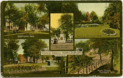 Historic Parks in Hamilton, Ontario
