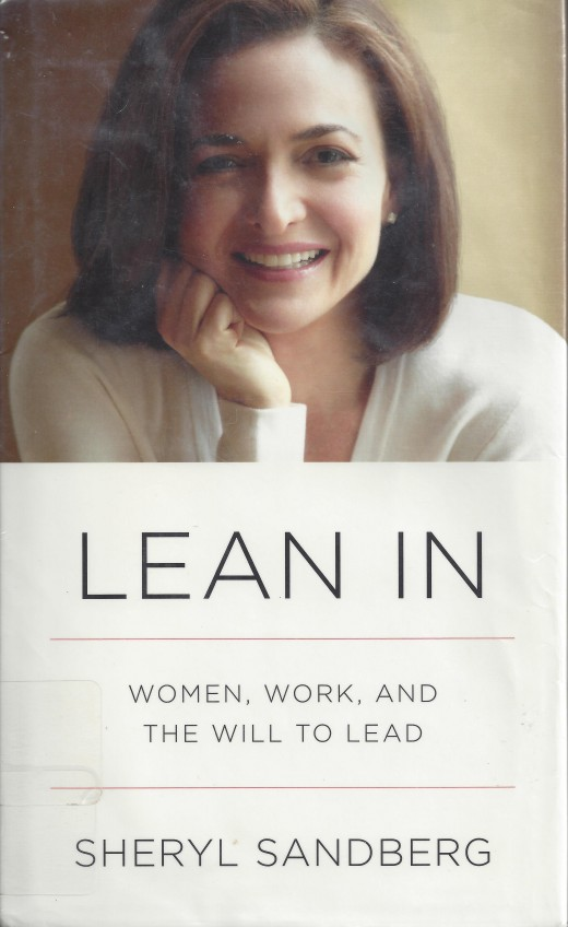 """The Cover of the Book """"Lean In"""""""