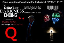 PANIC IN D.C./WORLDWIDE-- PANDEMIC… GO Q WITH A NEEDED ASSIST FROM JUSTICE CAVANAUGH!