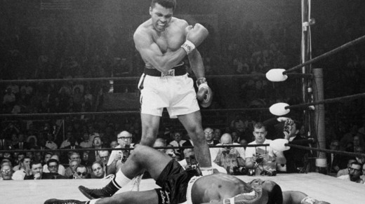 courtesy of AP.  Considered by many to be the greatest fighter and trash talker of all time, Mohammad Ali's famous rhyming insults made him exciting to watch in and out of the ring.