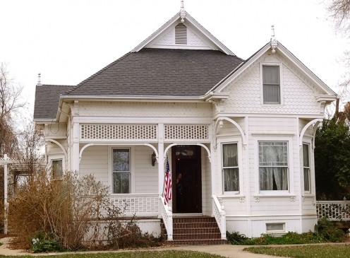 Typical of new homes built in the late 1890s