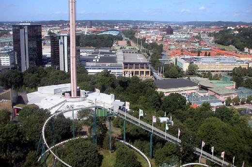 Liseberg Park in Gothenburg