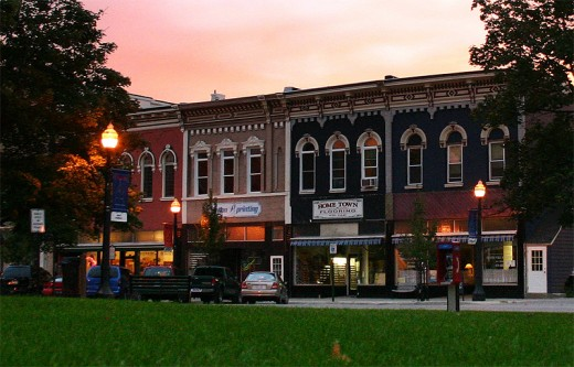 Mason Courthouse Historic District-shades of Old Town, Lansing!