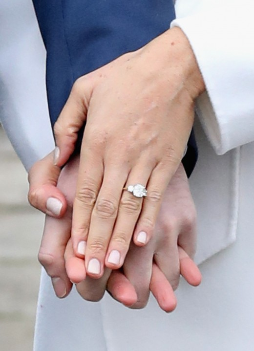 Engagement ring  of Meghan Markle, Duchess of Sussex
