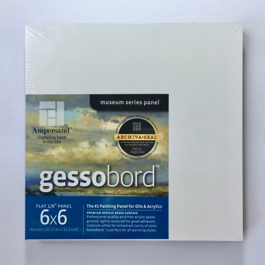 Gessobord Panels for Acrylic or Oil Painting