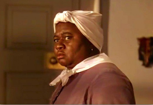 """Hattie McDaniel was the first African-American to win an Academy Award Oscar playing the lovable """"Mammy"""" in Gone With The Wind."""