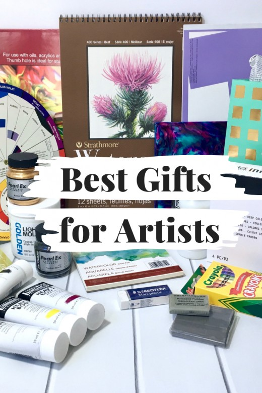 A list of some of the best gifts for artists.
