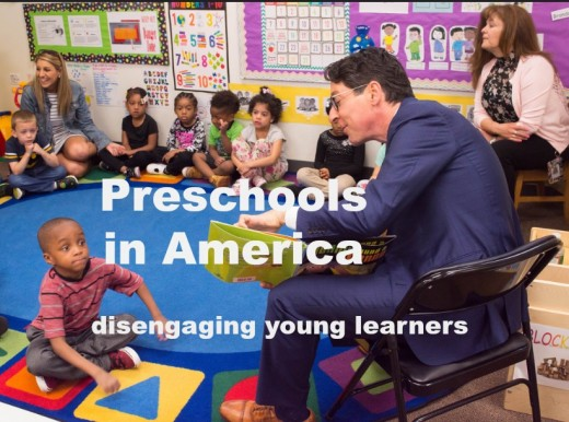 Preschools in the United States should shift back to child-centered learning.