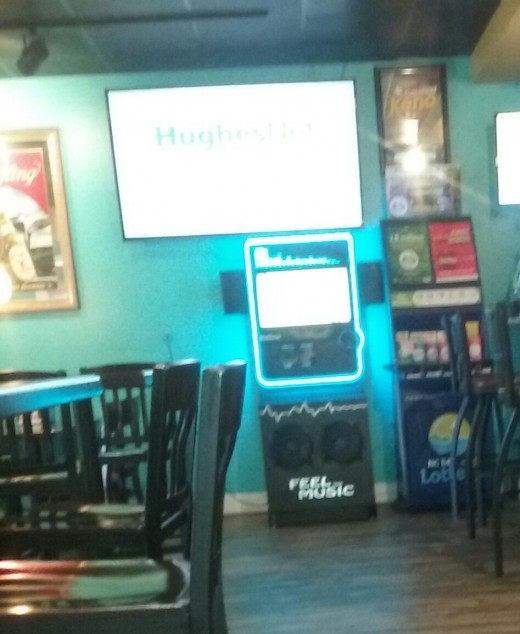 The jukebox at Cooper's Ale House