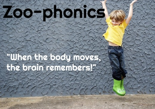 Zoo-phonics is a kinesthetic approach to teaching children how to read and that's why it works.