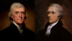 Hamilton Versus Jefferson (and the Survival of the United States)