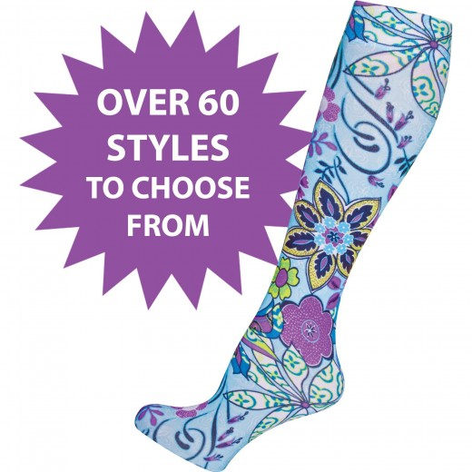 Socks, socks, lots of them, different kinds and colors!